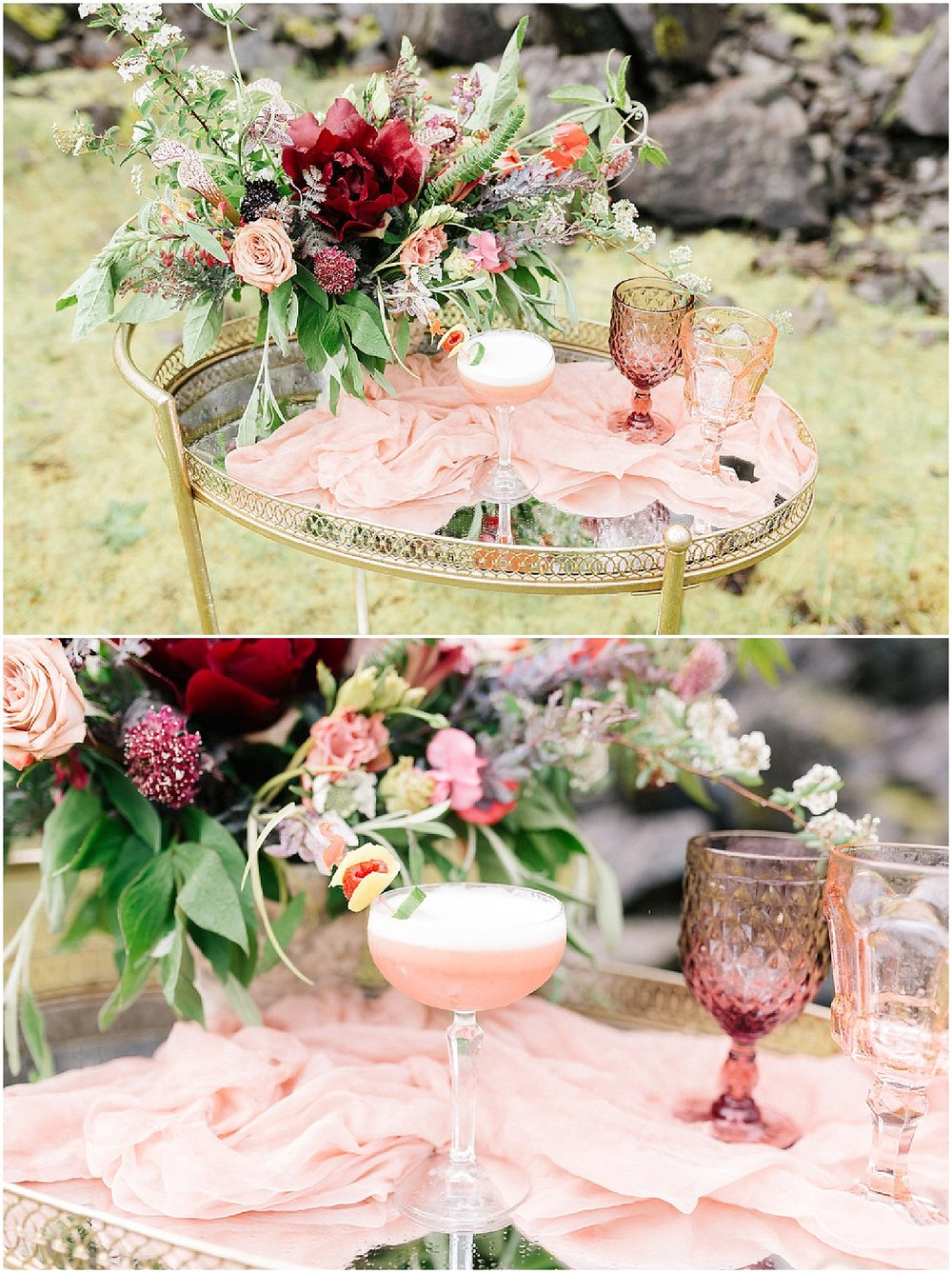 whimsical centerpiece