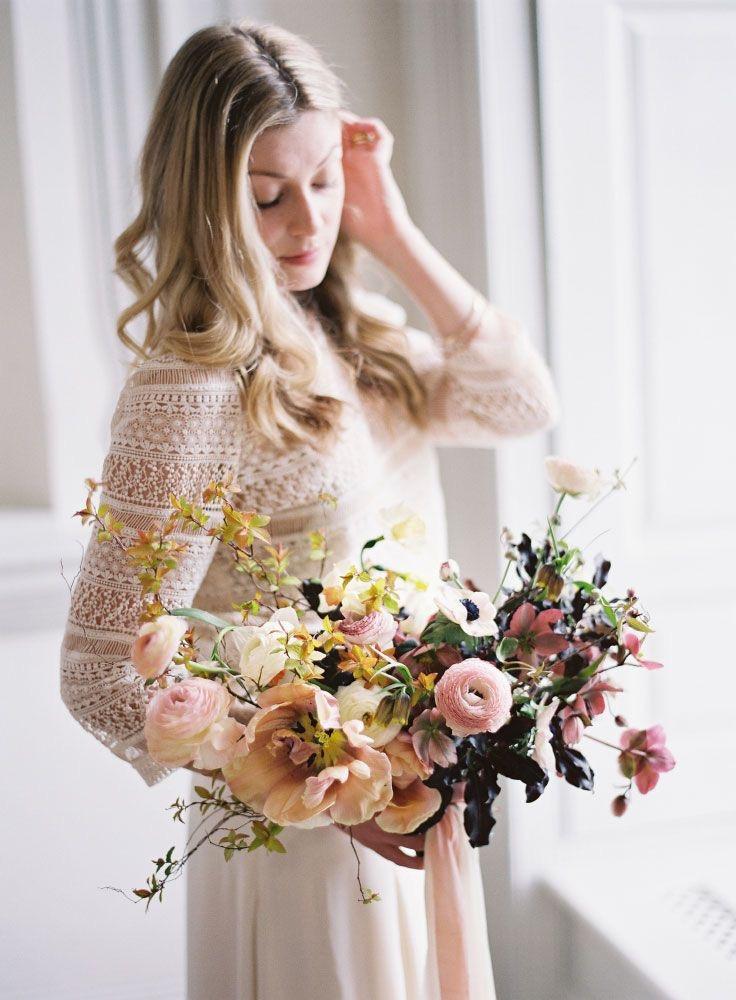 wilflower inpired bouquet
