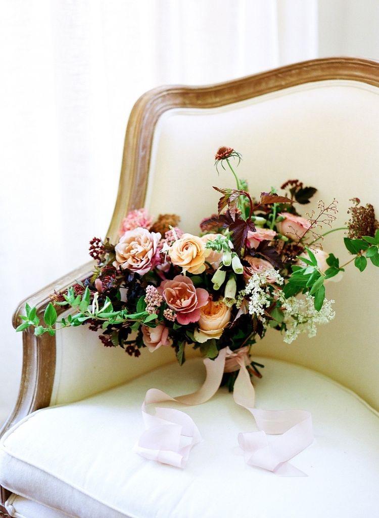 bridal bouquet itself