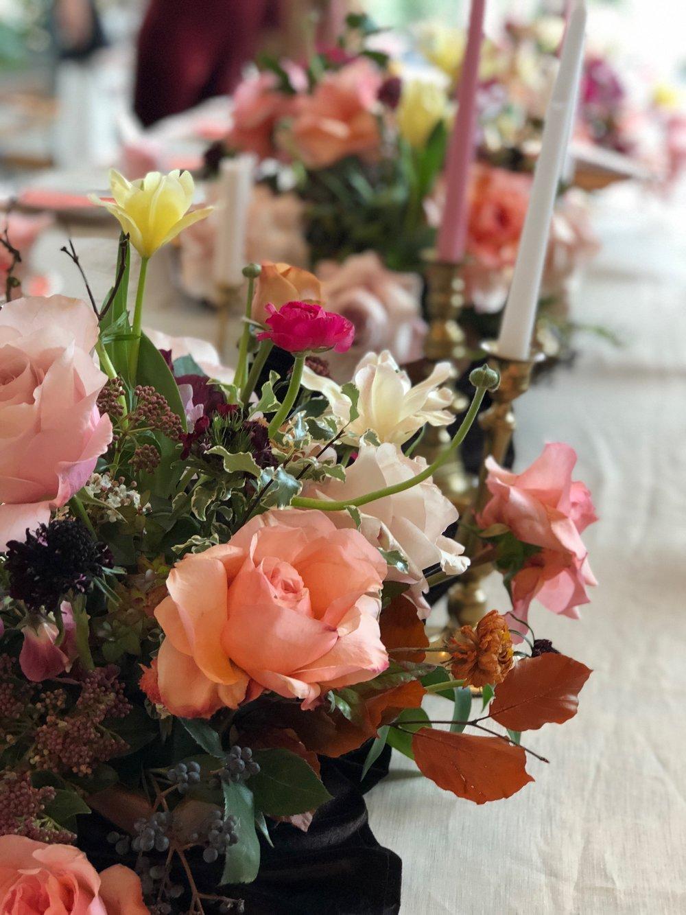 table arrangememt