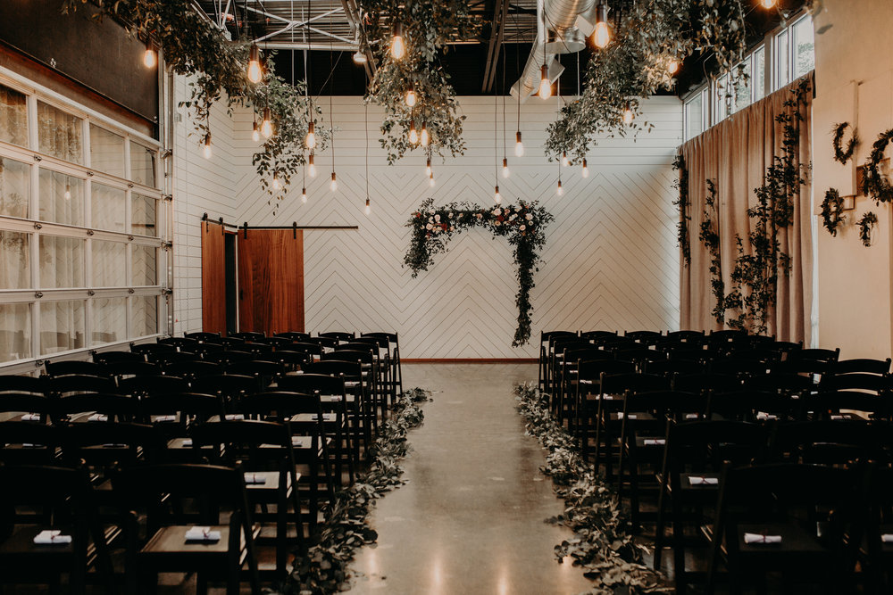 Portland industrial wedding venue