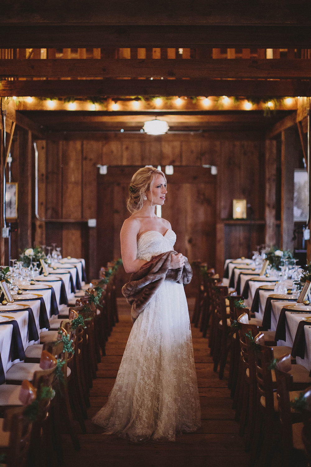Wedding barn in Eugene, Oregon