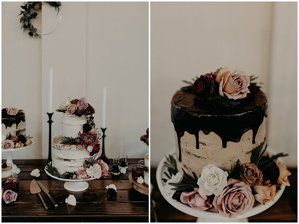 glorious cake florals