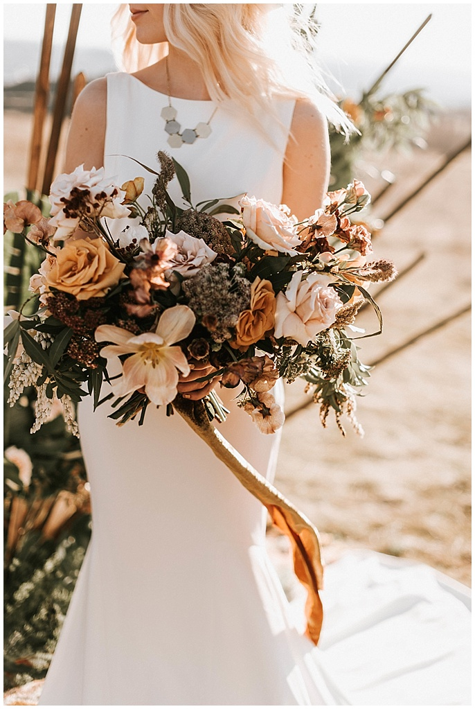 wild floral bouquet