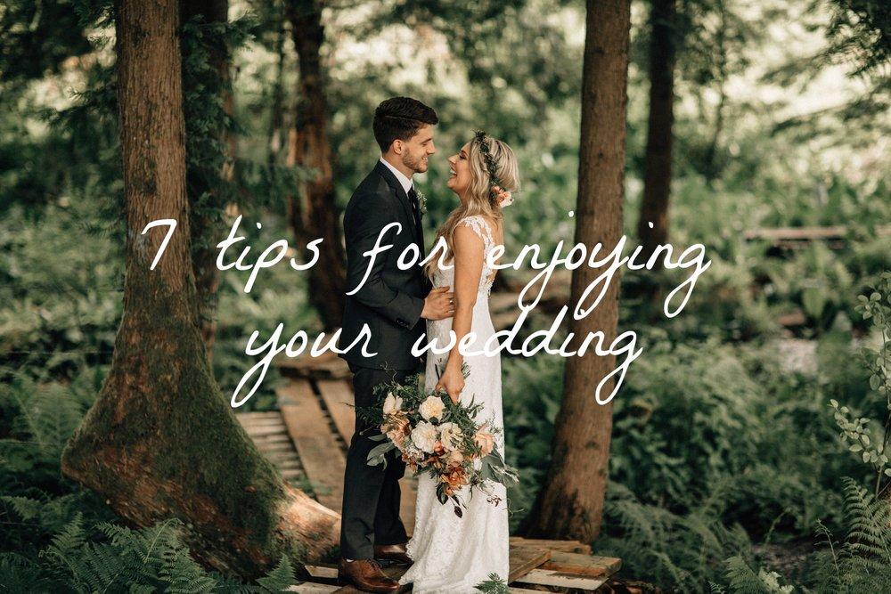Forest wedding bouquet