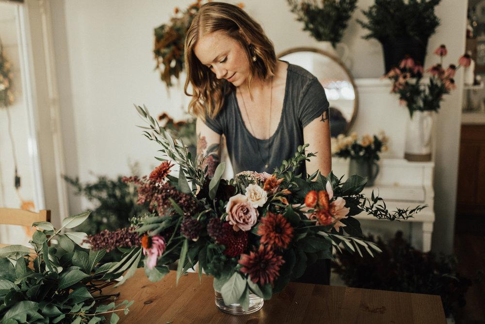 training a portland florist