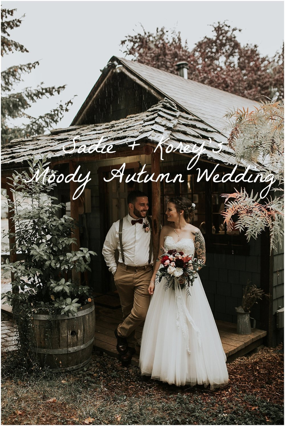 good seed floral design moody autumn wedding