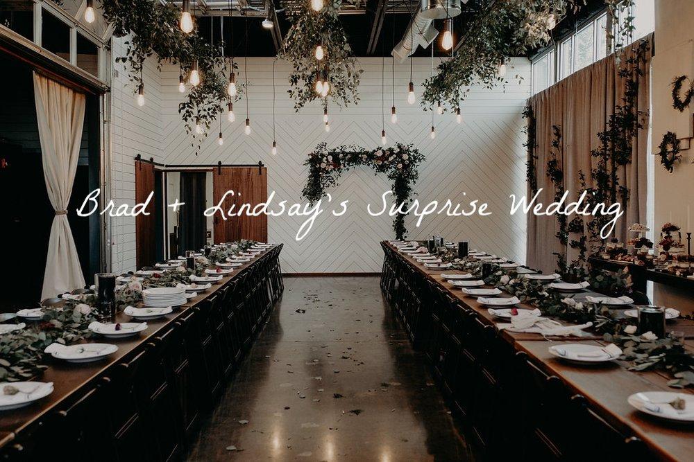 surprise wedding in Portland