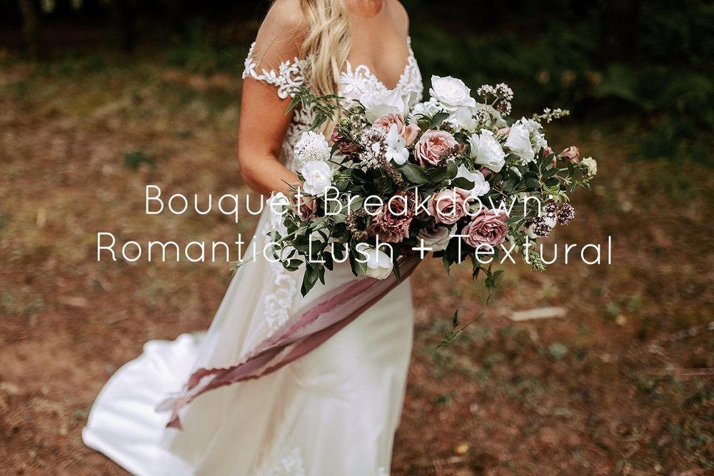 romantic summer bouquet