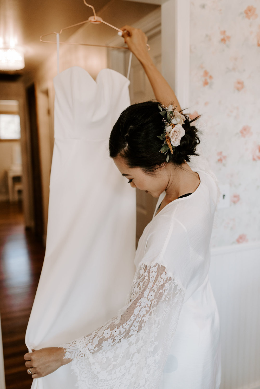 boho elegant bride