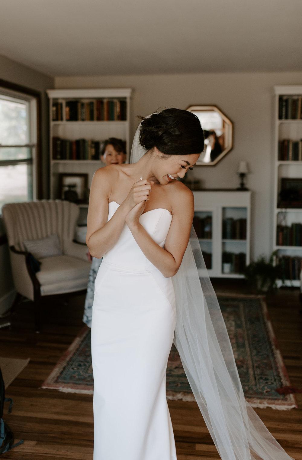 elegant boho bride