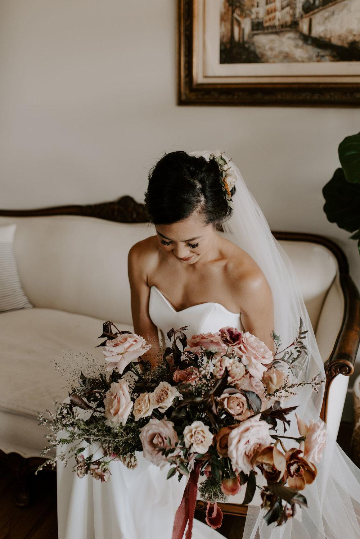 elegant boho wedding