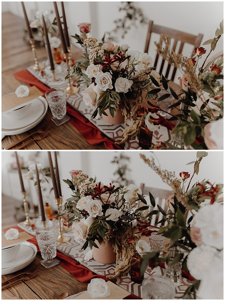 boho table wedding