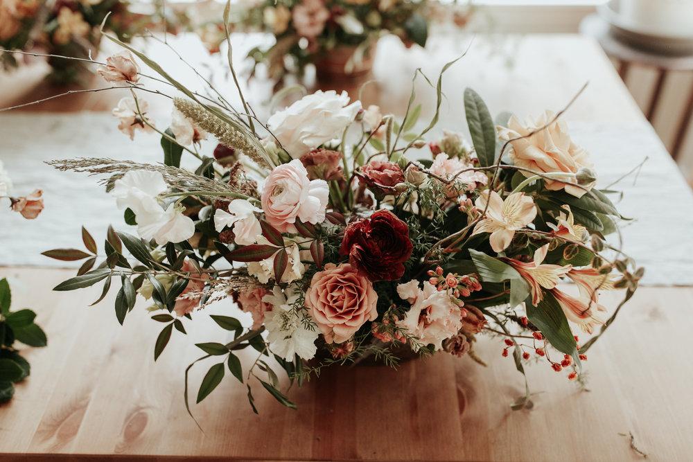 boho wedding centerpiece