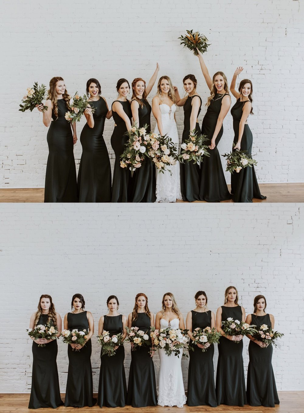 bridesmaid style guide bouquets