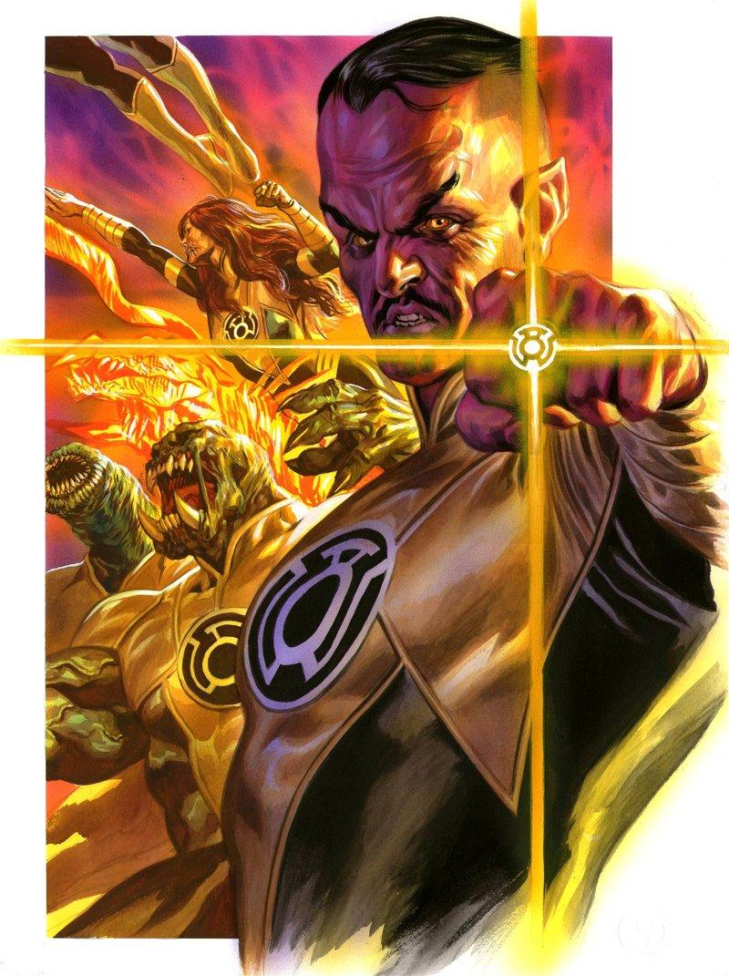 superhero sunday villain sinestro geeks rising