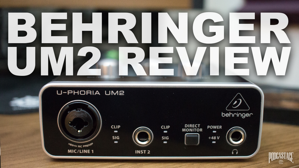 behringer um2 audio interface review