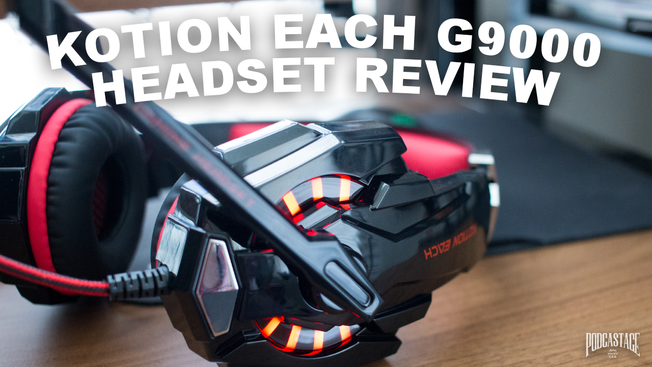 Kotion Each G9000 Gaming Headset Review Test Geeks Rising