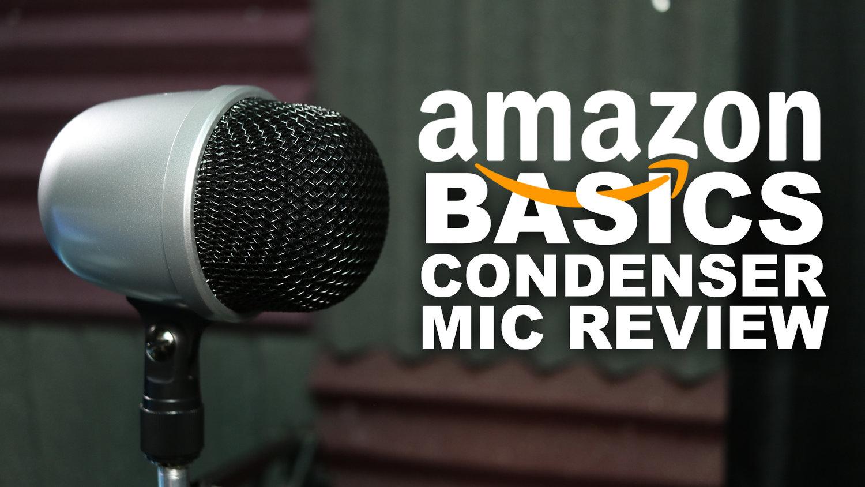AmazonBasics Desktop Mini Condenser Microphone Review / Test — Geeks
