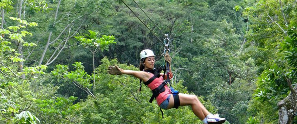 Friday, July 13:  Zip-lining Adventure