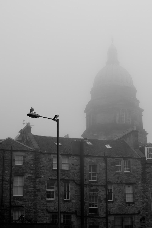 Fog, Edinburgh