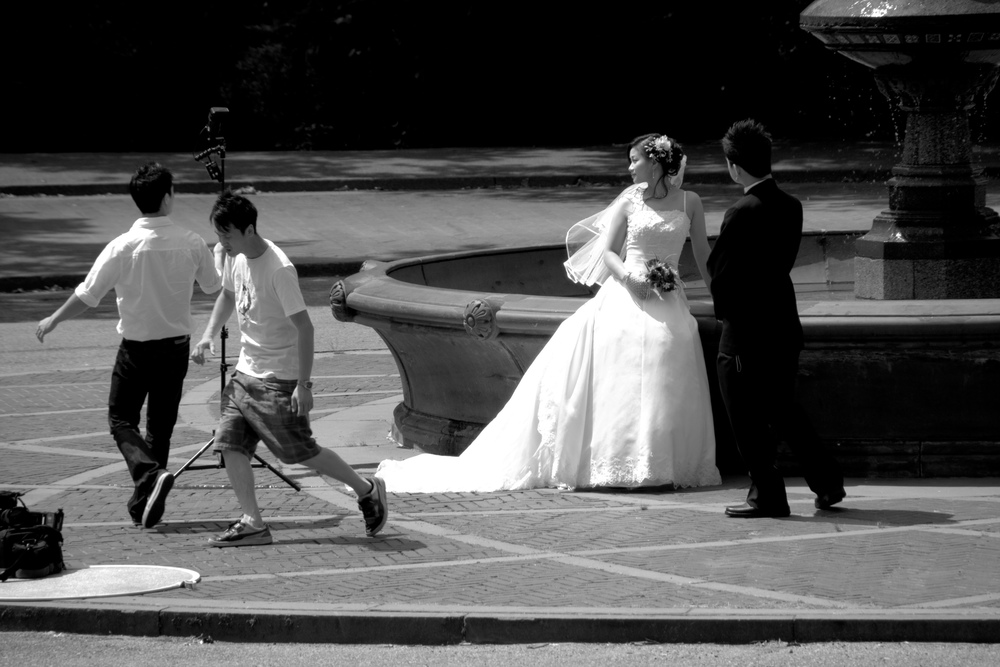 Wedding shoot, Central Park