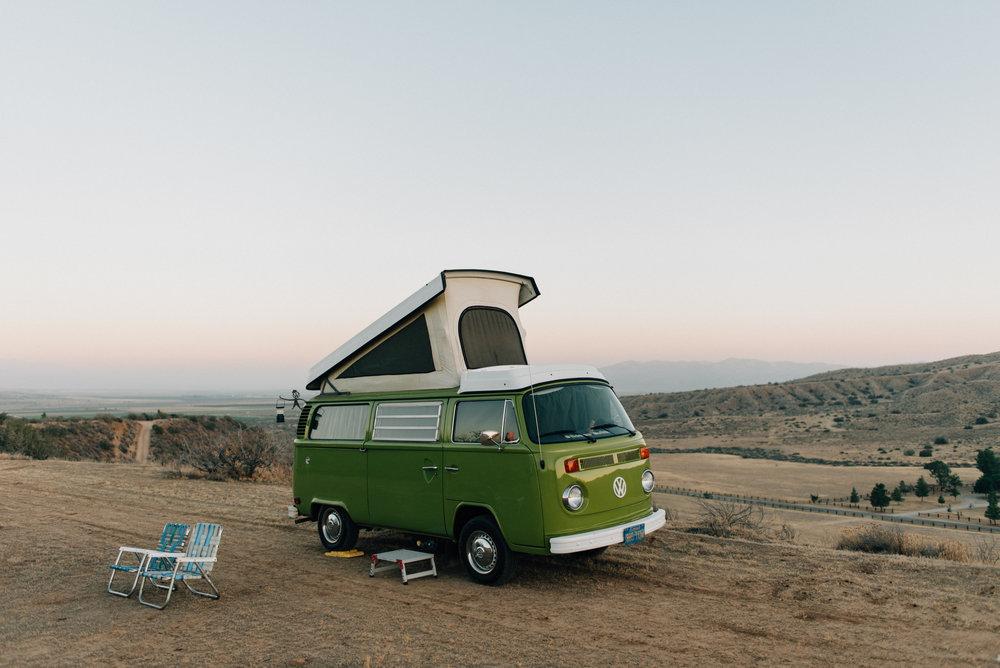 Van Life | Cuyama Badlands
