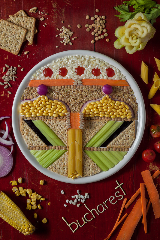 """Muklashy, Wasim. """"Photographer Agustín Nieto and Stylist Anna Keville Joyce Play With Their Food 