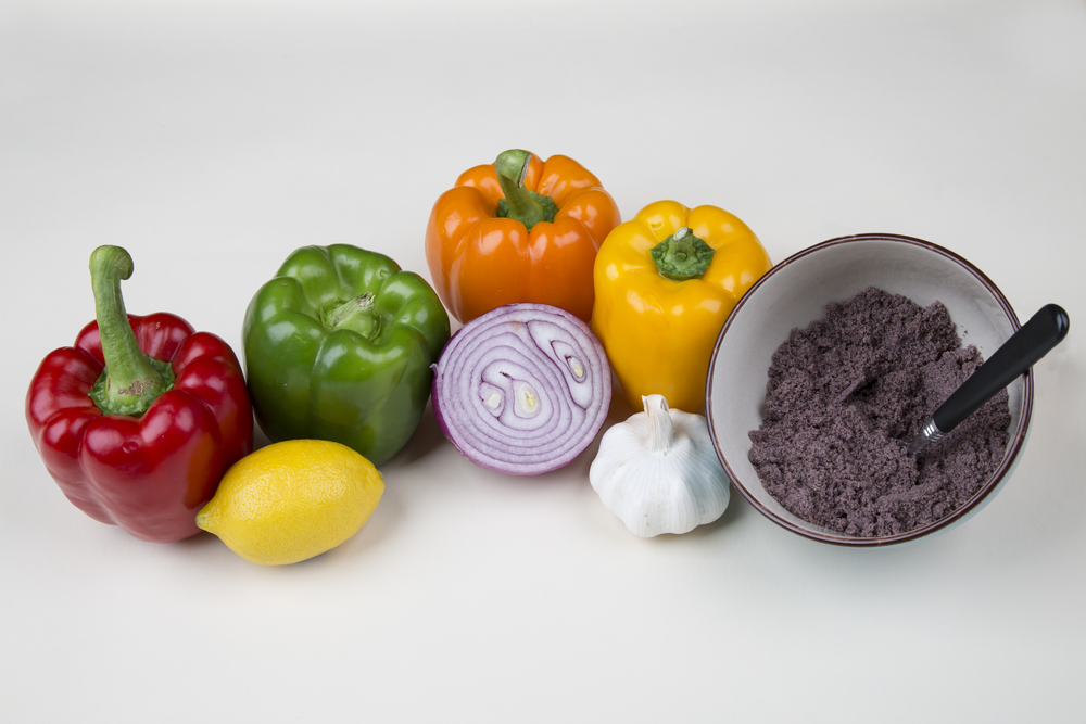 Ingredients to Salsa and Chips