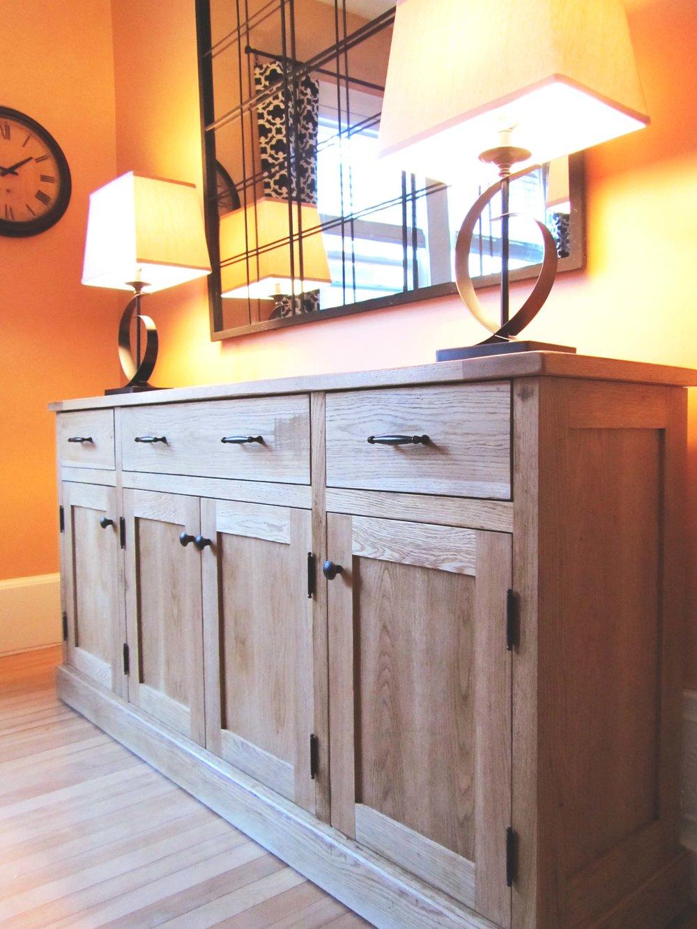 Honore-Cabinetry-custom-rustic-finish-Oak-sideboard.JPG