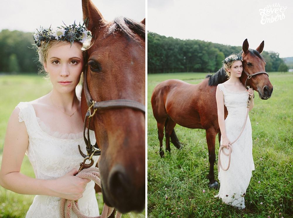 Belovely Floral and Event Design Robin Hood Inspired Wedding, Boho bride, Flower Crown