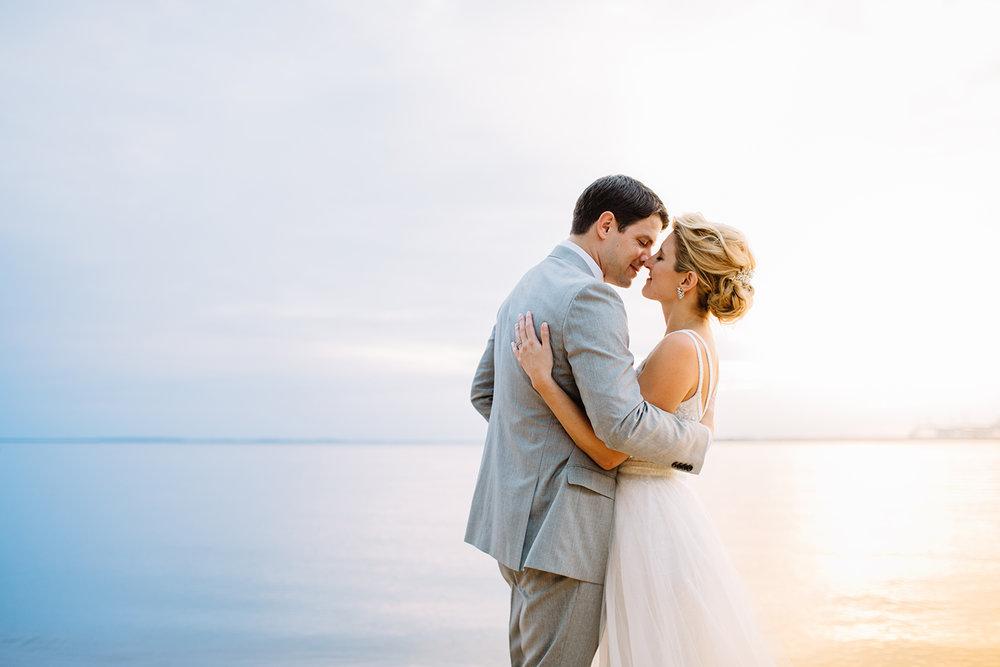 chesapeake bay beach club beach wedding maryland wedding photographers