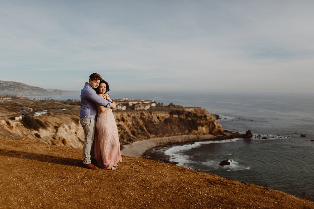 los angeles wedding photographer / los angeles engagement photos / beach wedding engagement session