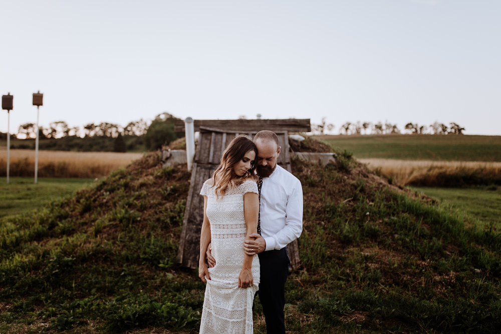 rodale institute wedding / farm wedding / farm wedding photographer