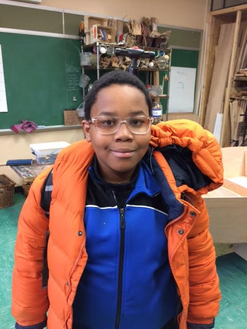 Asante, a 7th grader from BCS is our featured Captain of the Day!