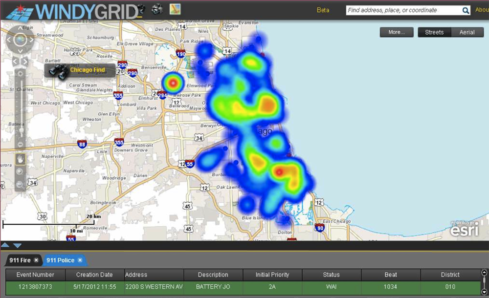 WindyGrid Screenshot