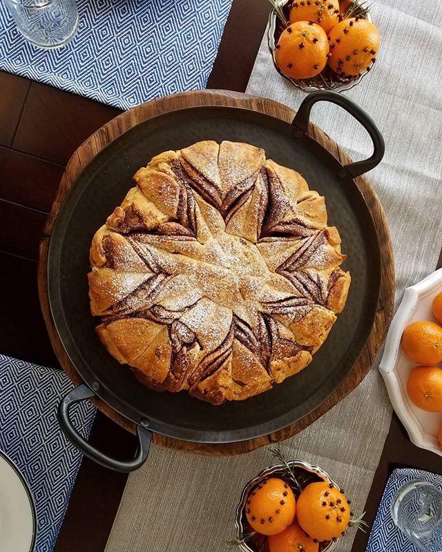 Happy Holidays!  #clementines #pillsbury #pinterestinspired #foodofinstagram #crateandbarrel #peppercorn