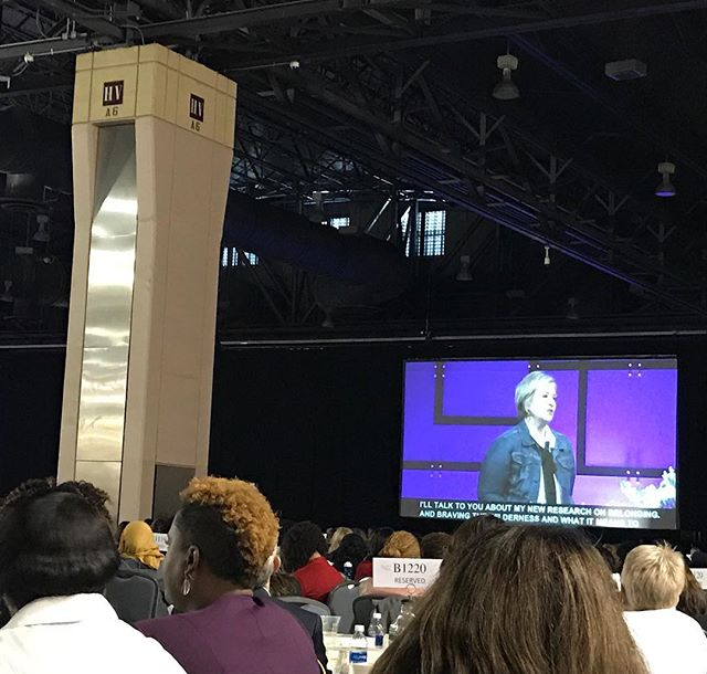 @brenebrown on belonging: Your level of true belonging can never be bigger than the courage to stand alone. #bravingthewilderness #PennWomen