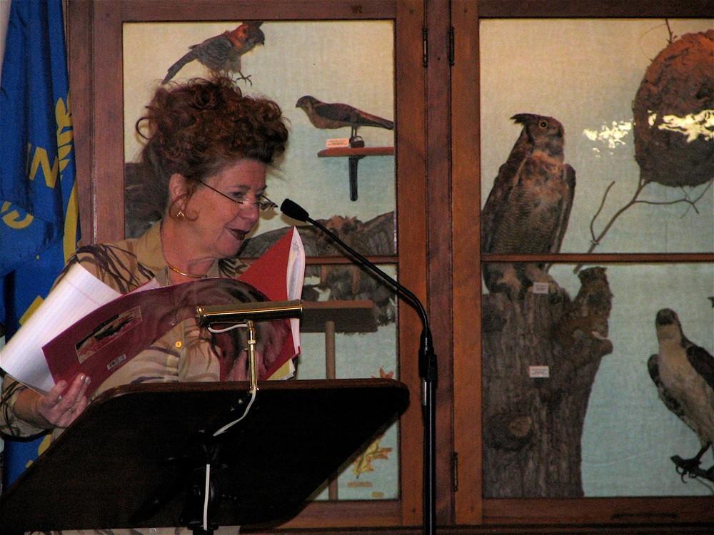 Linda Schmidt at institute of Science