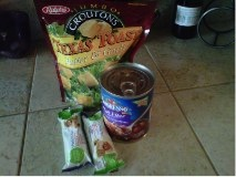 A Challenger's food items
