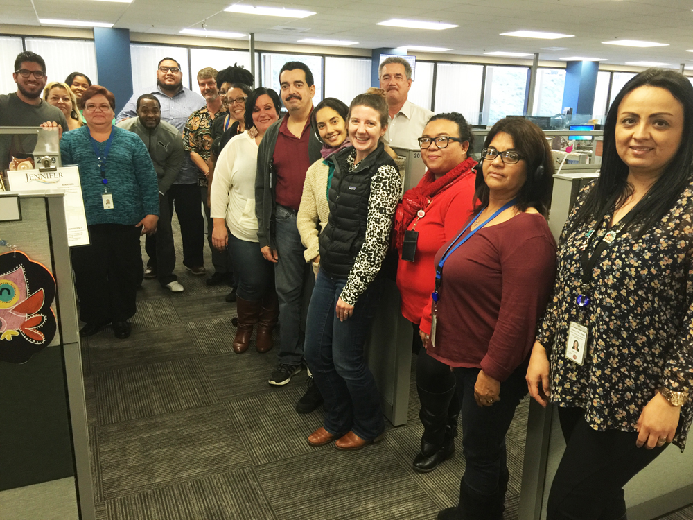 Task Force visits County's Access Customer Service Call Center