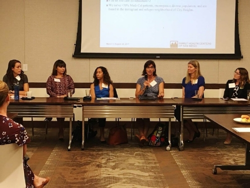Experts in healthcare and hunger participate in Be There San Diego's University of Best Practices series.
