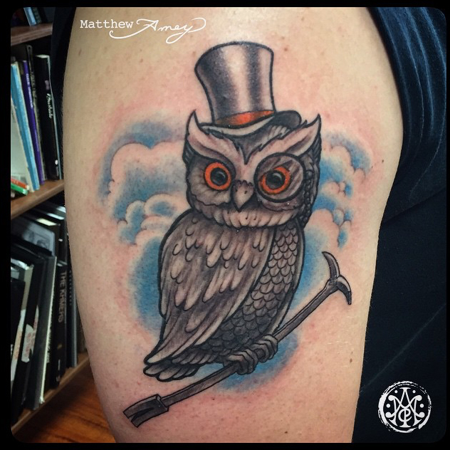 Tattoo by Matthew Amey
