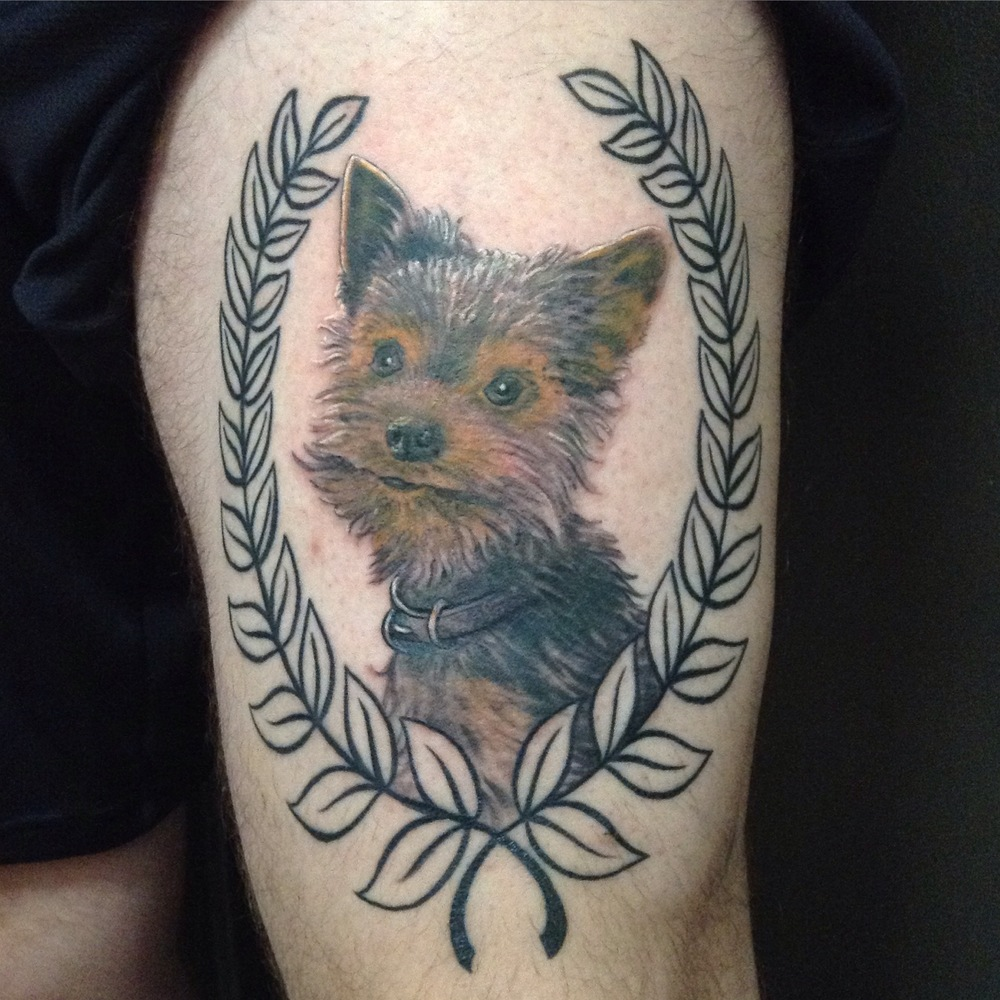 Tattoo by Matthew Amey