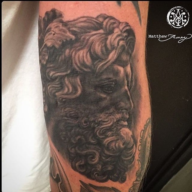 Tattoo by Matthew Amey.
