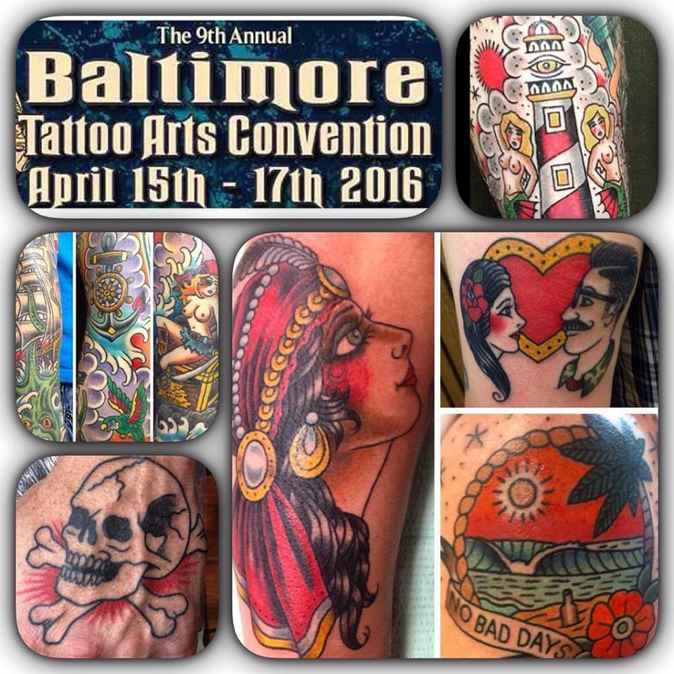 Booking Appointments for Baltimore... — Independent Tattoo - Dela-where?
