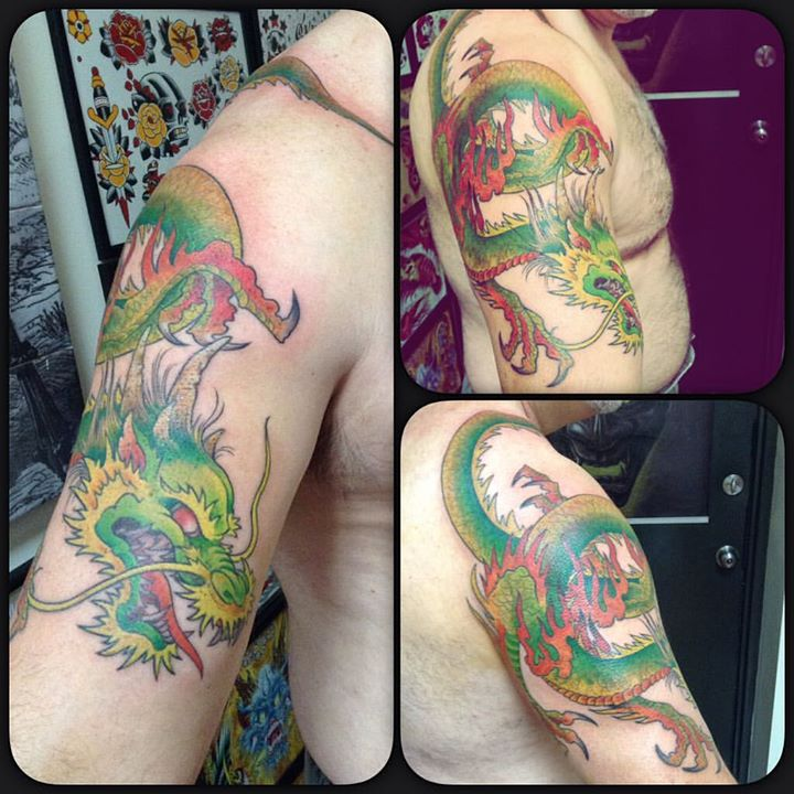 Tattoo by Tres Denk