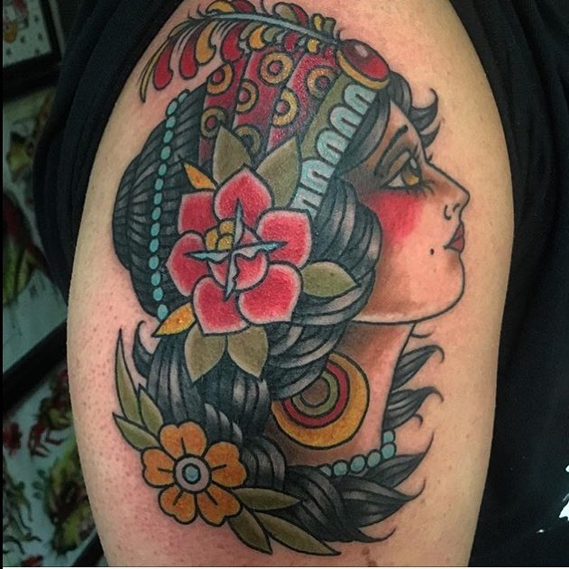 Tattoo of the Week by James Delzel