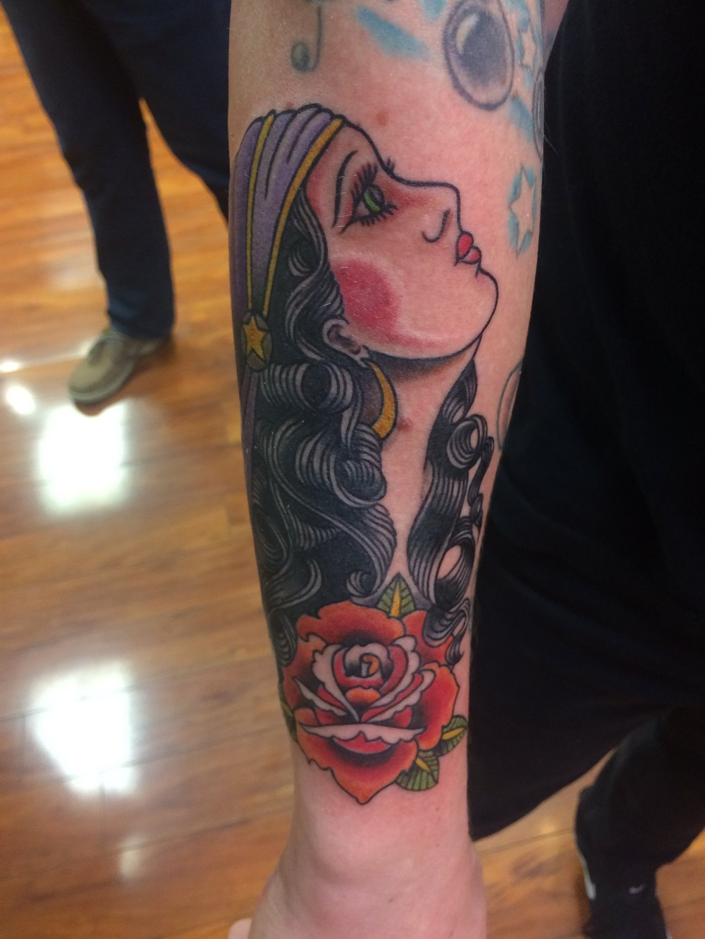 Tattoo by Tres Denk.