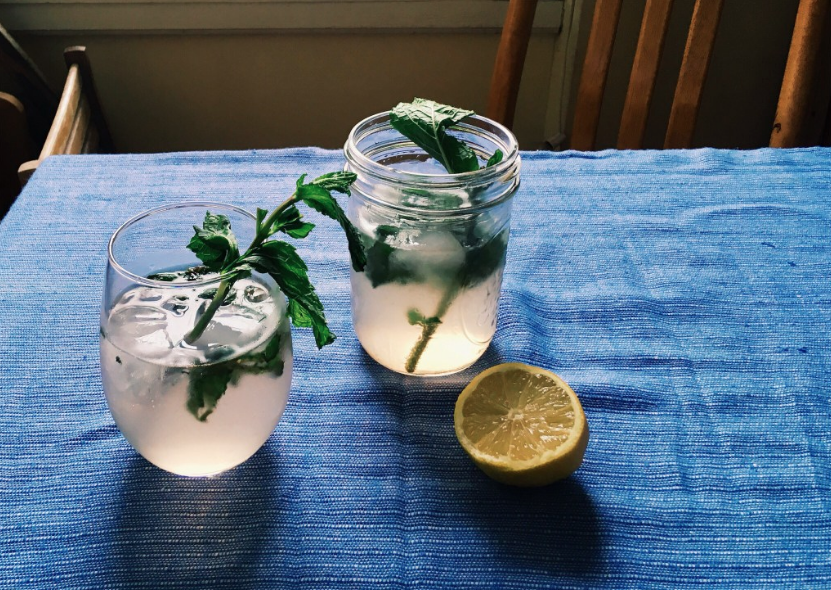Lavender Mint Fizz  recipe.